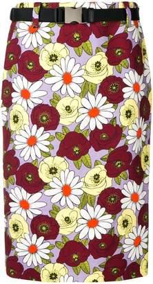 0b91f6097fdc2 Prada Purple Skirts - ShopStyle