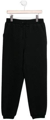 Milly Minis Girls' Quilted Jogger Pants