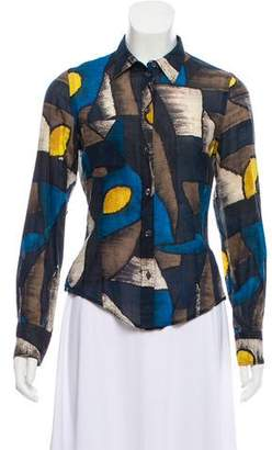 Paul Smith Printed Button-Up