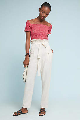 Anthropologie Paperbag-Waisted Pants