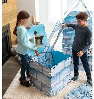 HearthSong Igloo Fantasy Fort With Panels, With 16 Reversible Cardboard Panels