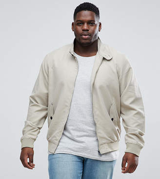 Brave Soul PLUS Summer Lined Harrington Jacket
