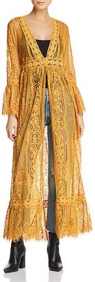 Band of Gypsies Sheer Lace Duster