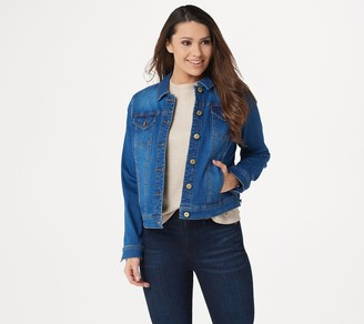 Isaac Mizrahi Live! TRUE DENIM Jean Jacket