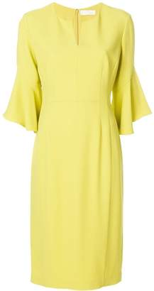 Mantu bell sleeve mid-length dress