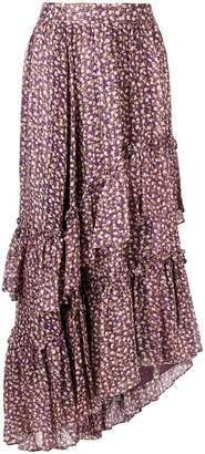 Ulla Johnson frilled full skirt