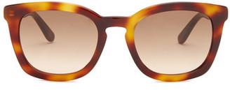BOSS HUGO BOSS Men&s Square Sunglasses $195 thestylecure.com