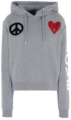 Love Moschino OFFICIAL STORE Hooded sweatshirt