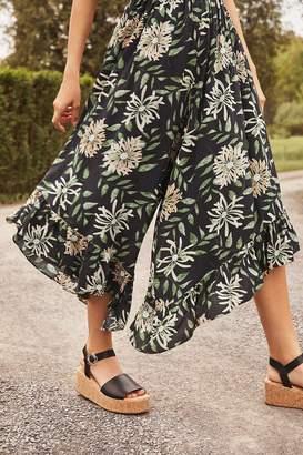 Urban Outfitters Layla Cork Flatform Sandal