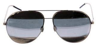 Christian Dior Aviator Mirrored Sunglasses
