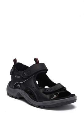 Ecco Offroad Marine Oil Leather Sandal