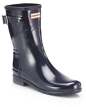 Hunter Women's Refined Short Gloss Rain Boots