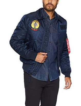 Alpha Industries Men's CWU 45/P Storm Cruise Mid Length Flight Jacket