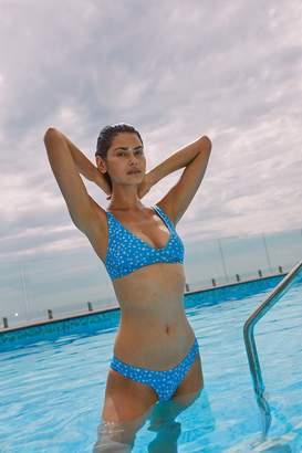 Stone Fox Swim Printed Ziggy Bikini Top