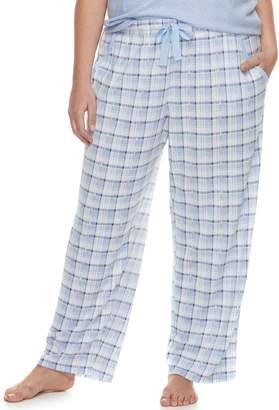 Croft & Barrow Plus Size Pajama Pants