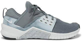 Nike Training - Metcon 2 Free Mesh and Neoprene Sneakers - Men - Gray