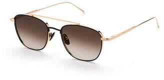SUNDAY SOMEWHERE Romeo Titanium Aviator Sunglasses