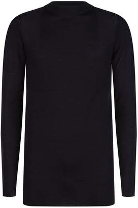 Rick Owens Ribbed Panel Sweater
