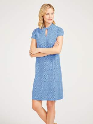 Belle Dress in Micro Texture
