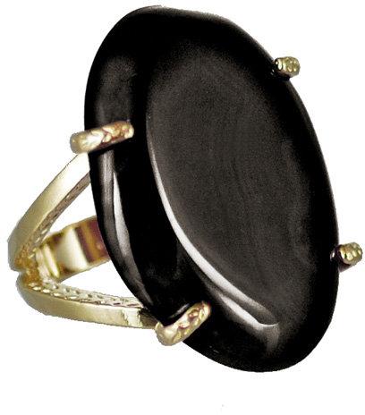 Kendra Scott Jewelry Black Kit Ring