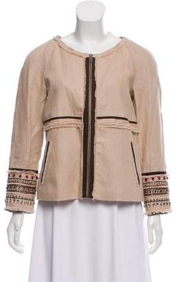 Elizabeth Cole Lightweight Embellished Jacket