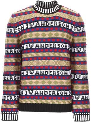 J.W.Anderson Logo Intarsia Knit Pull