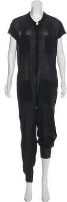 Raquel Allegra Knit Short Sleeve Jumpsuit