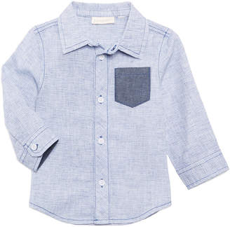 First Impressions Striped Shirt, Baby Boys, Created for Macy's