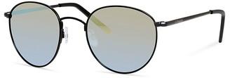 Polaroid Round Polarized Sunglasses, 51mm $65 thestylecure.com