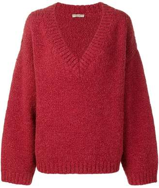 Bottega Veneta textured oversized jumper