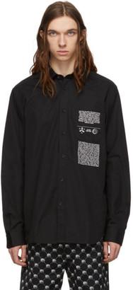 Diesel Black Ven-Print Shirt