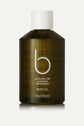 Bamford Geranium Bath Oil, 250ml - Colorless