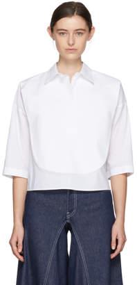 Maison Margiela White Parachute Shirt