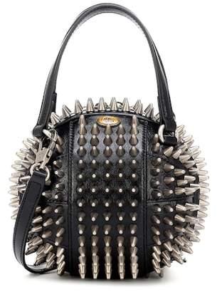 Gucci Tifosa Mini studded leather tote