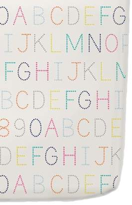petit pehr Alphabet Crib Sheet