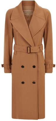 Burberry Cranston Wool Cashmere Trench Coat