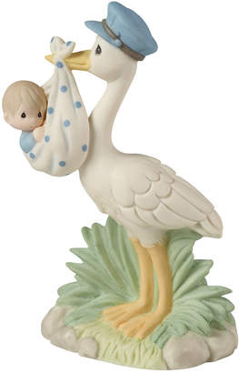 Precious Moments Love Is On Its Way Stork Figurine, Boy