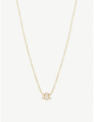 Chicco The Alkemistry Zoë 14ct yellow-gold and diamond stepped necklace