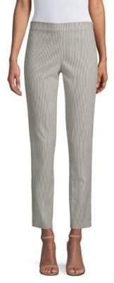 Donna Karan Striped Skinny Pants