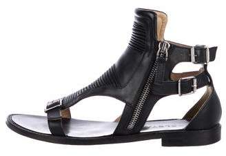 Belstaff Leather Flat Sandals