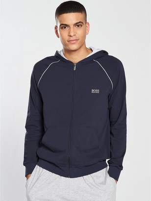 BOSS Lightweight Zip Hooded Top