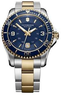 Victorinox Maverick Two-Tone Stainless Steel Watch