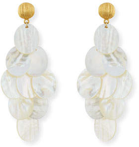 Mother of Pearl NEST Jewelry Mother-of-Pearl Chandelier Earrings