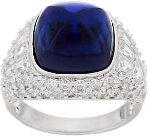Elizabeth Taylor The 4.35 cttw SimulatedSapphire Ring