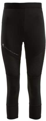 adidas by Stella McCartney Essential Cropped Performance Leggings - Womens - Black