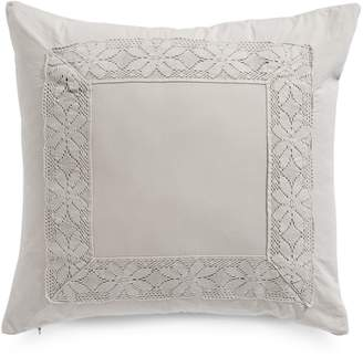 Boutique By Distinctly Home Bella Square Crochet Decorative Cushion