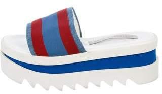 Stella McCartney Flatform Slide Sandals