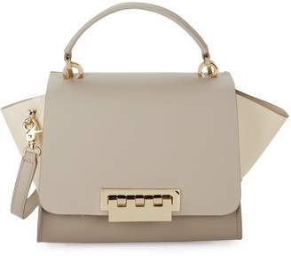 Zac Posen Eartha Colorblock Leather Crossbody Bag