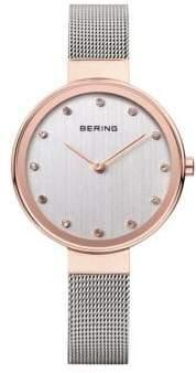 Swarovski BERING Classic Analog Two-Tone Crystal Watch