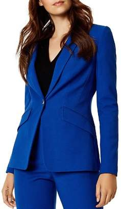 Karen Millen Fitted One-Button Blazer - 100% Exclusive
